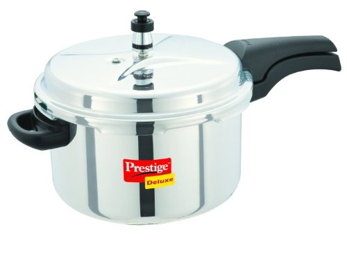 Prestige Indian pressure cooker with whistle