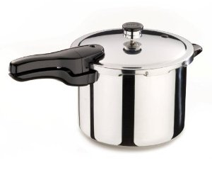Presto US pressure cooker with pressure regulator instead of whistle