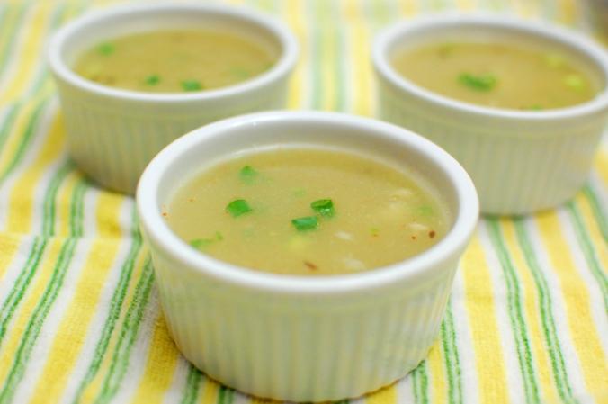 Bottle gourd soup 2
