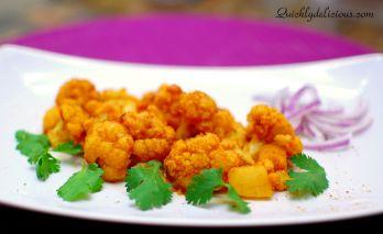 Cauliflower no onion, garlic b