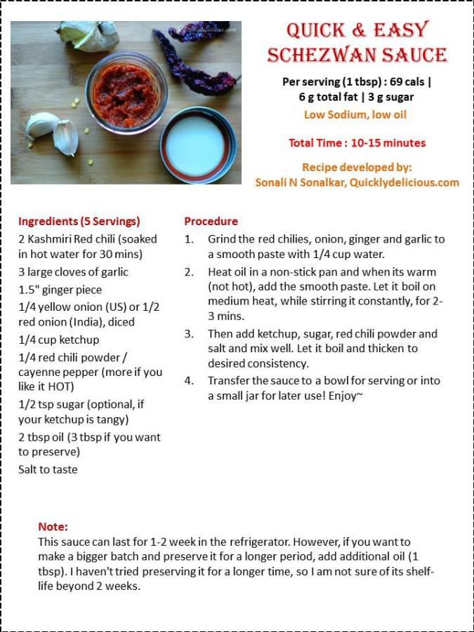 Schezuan sauce
