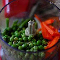 Schezwan Veggie Patties