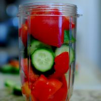 Gazpacho - the Spanish Soup (Cold & Refreshing)
