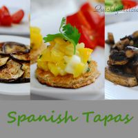 Spanish Tapas - Five quick and delicious appetizers
